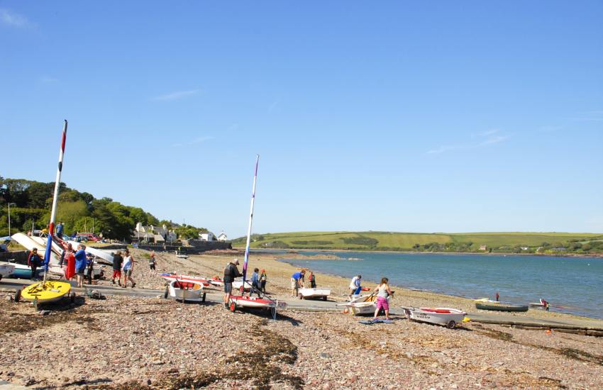 Dale on the Marloes peninsula is a water sports paradise