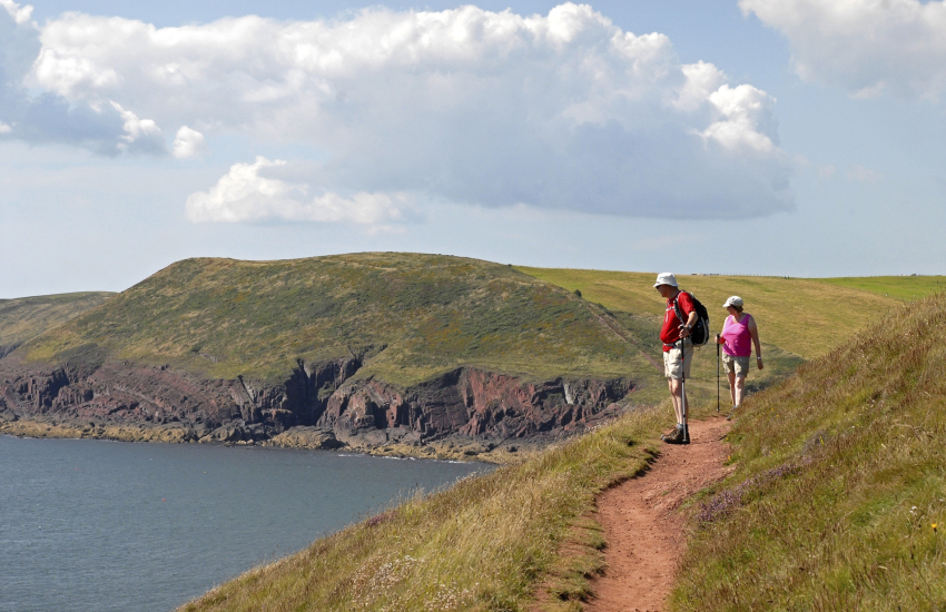 Pembrokeshire Coast Path - 186 miles of stunning cliff top scenery