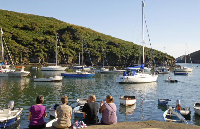 Solva - with its sheltered harbour