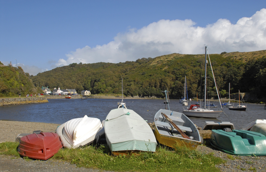 Solva, a pretty, sheltered harbour village