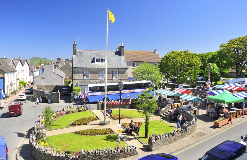 St Davids has a variety of places to eat plus lots of interesting little shops
