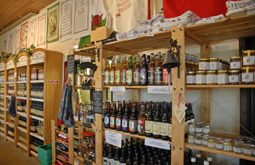 Cwm Deri Vineyard produces a large selection of country wines
