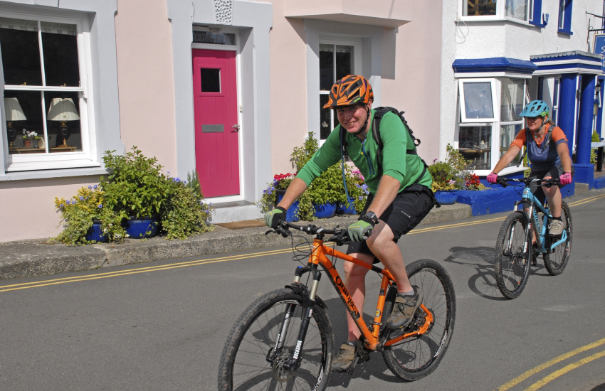 'Mikes Bikes', Haverfordwest, offer a wide range of cycle hire