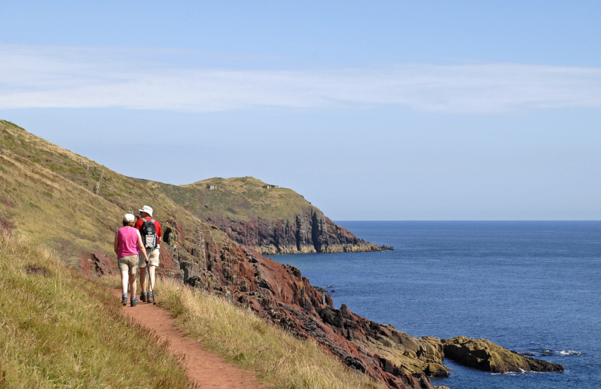 The Pembrokeshire Coast Path - 186 miles