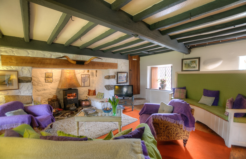 Porthmadog holiday cottage - lounge