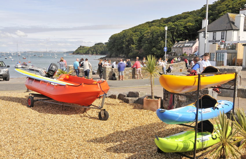 Coastal village of Dale has a wide variety of water sports