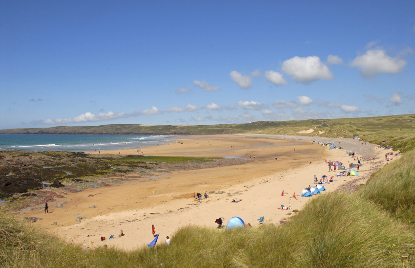 Freshwater West on the South coast