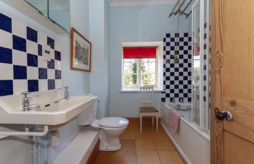 Plas Pontfaen House - family bathroom