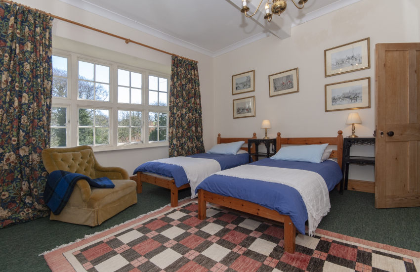 North Pembrokeshire manor house - twin with views to St Brynachs church