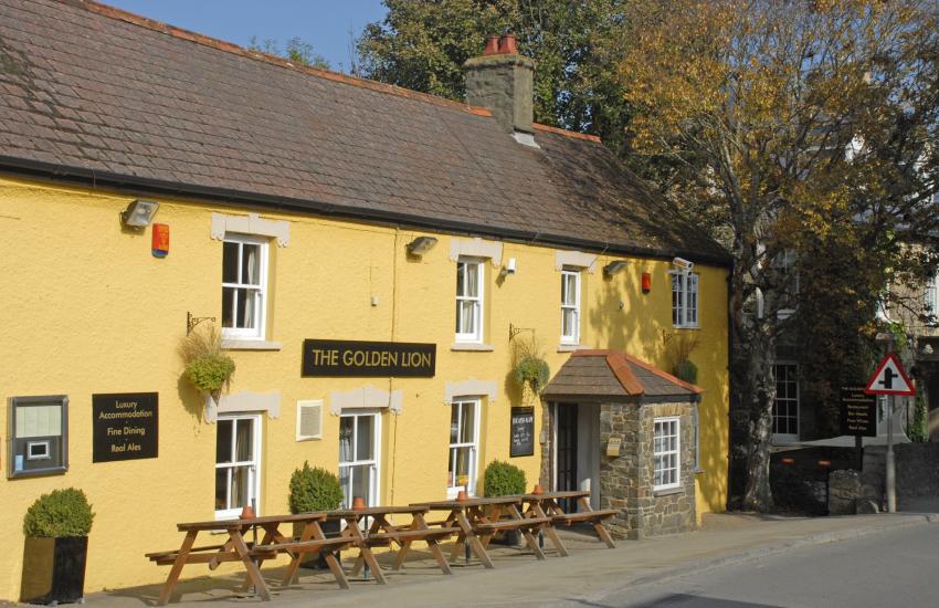 The Golden Lion, Newport - a traditional pub serving real ales