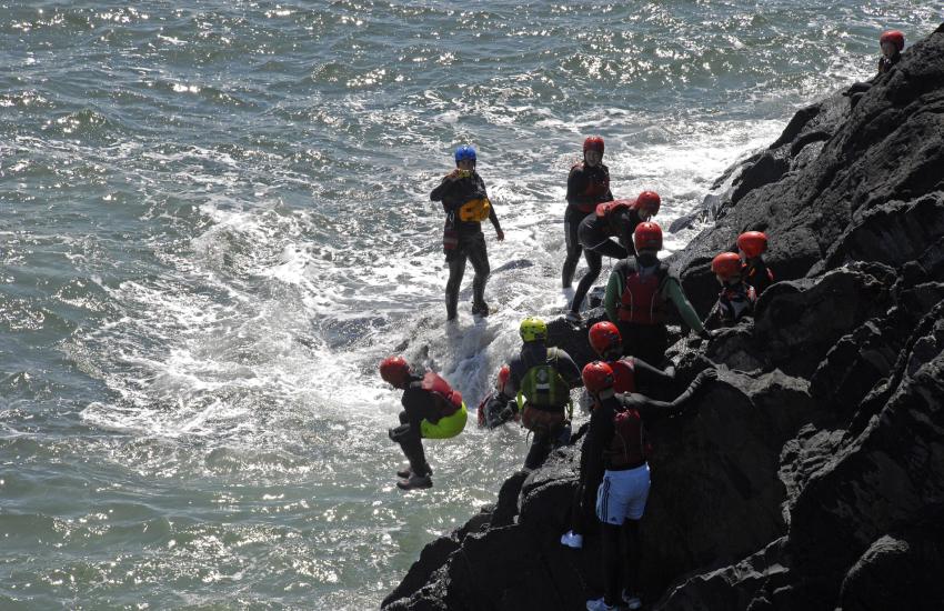 Celtic Quest Coasteering Abereiddy