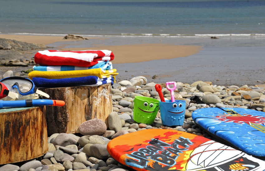 A range of wetsuits, surfboards, paddle boards and beach games are provided for your leisure