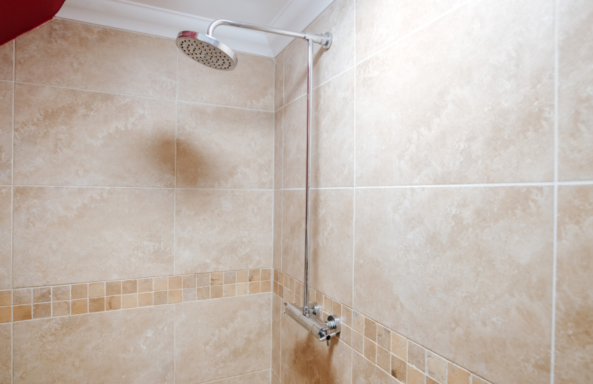 Brecon Beacons holiday house-shower room