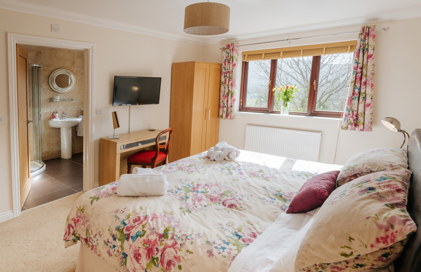 Dog friendly holiday cottage-double bedroom