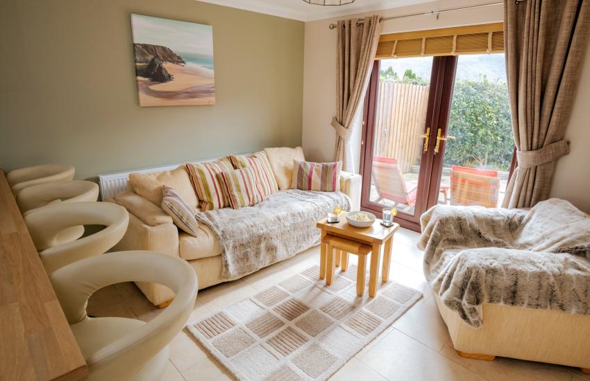 Kitchen lounge area cottage area
