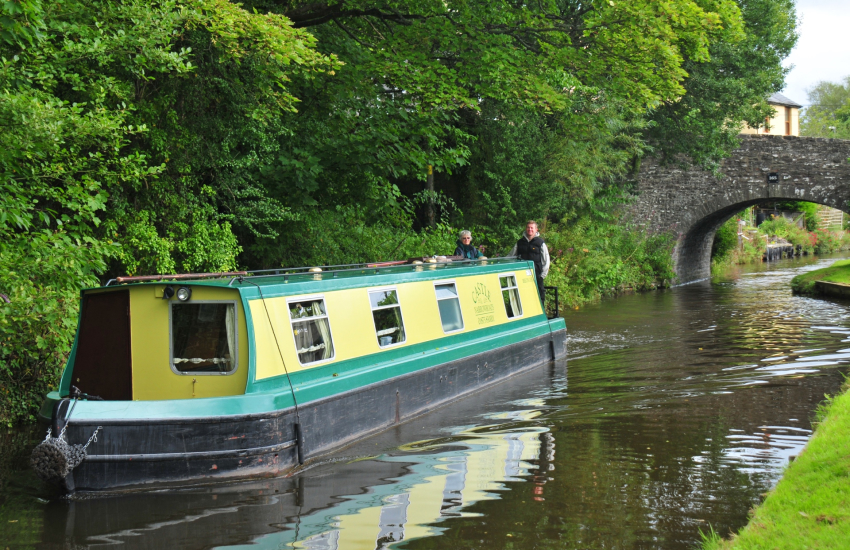 Brecon and Monmouth Canal is a scenic pathway