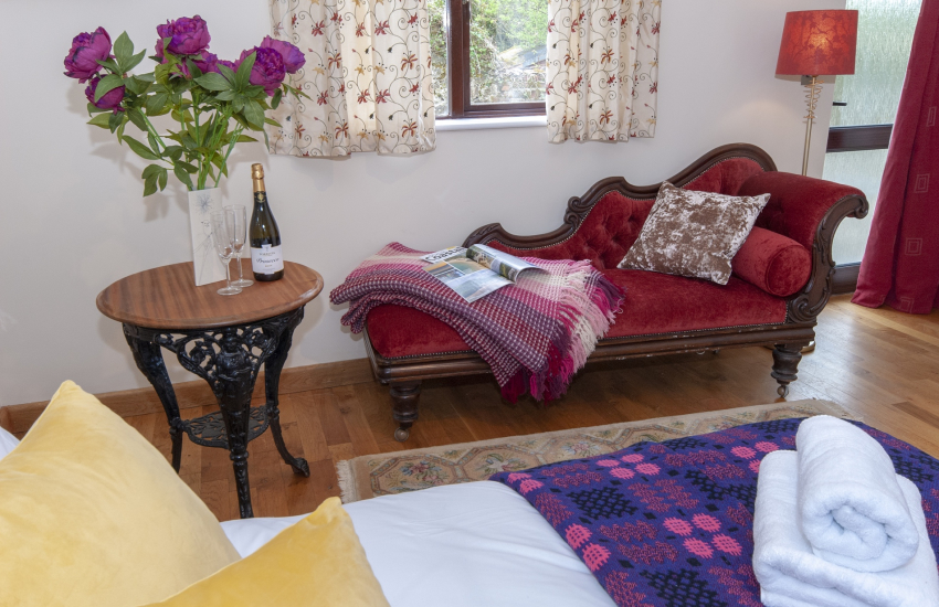 Cae Forgan Barn for 8 guests