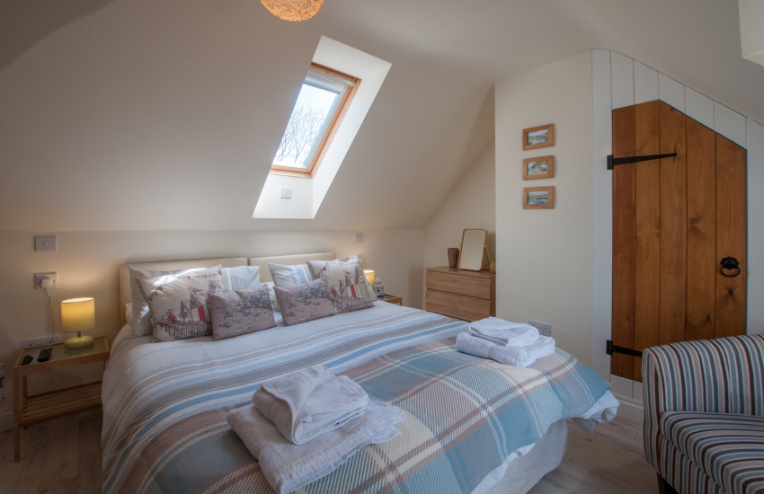 Anglesey holiday cottage  - 1st floor bedroom
