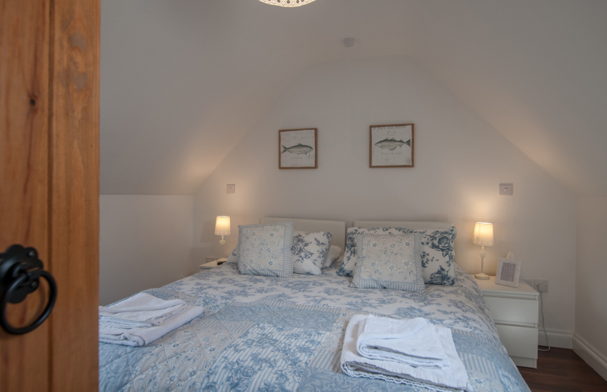 Pet friendly Anglesey holiday cottage  - 1st floor bedroom