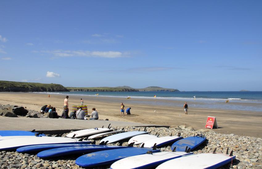 Whitesands (Blue Flag) - a spectacular sandy beach