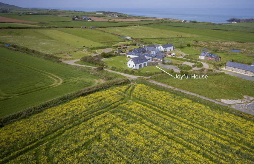 Joyful House Aerials Ground Pics QC May 2018 3