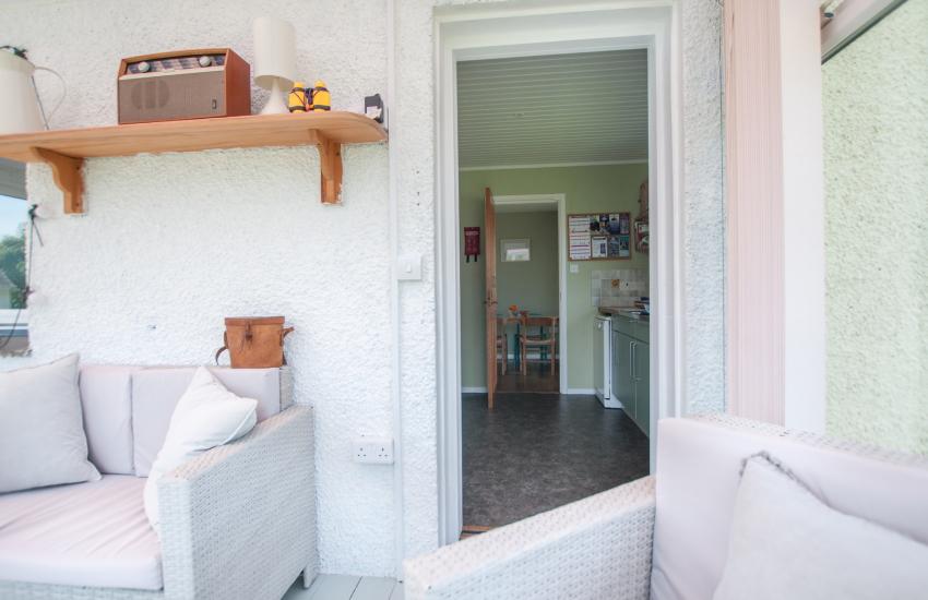 Aberdaron holiday cottage sleeping 6  - conservatory