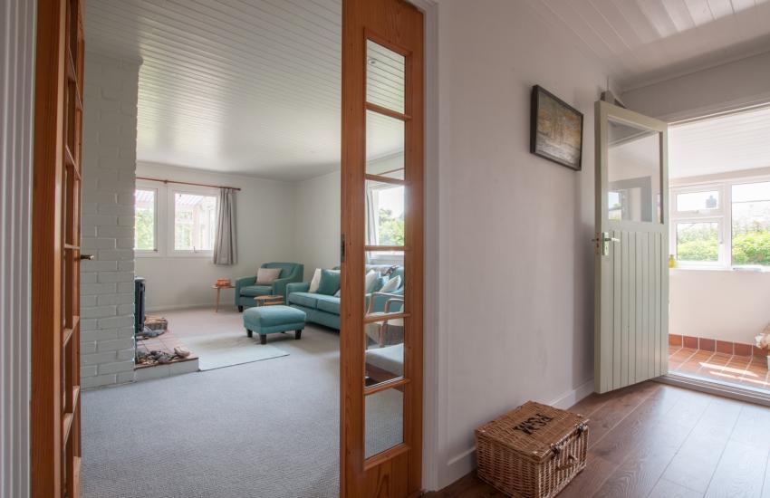 Holiday cottage Aberdaron - hall