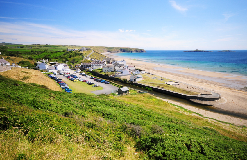 Aberdaron at the tip of the Llyn Peninsula