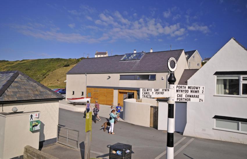 National Trust Centre in Aberdaron