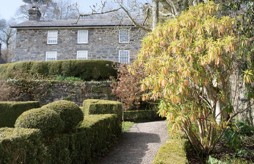 Plas Yn Rhiw house and gardens