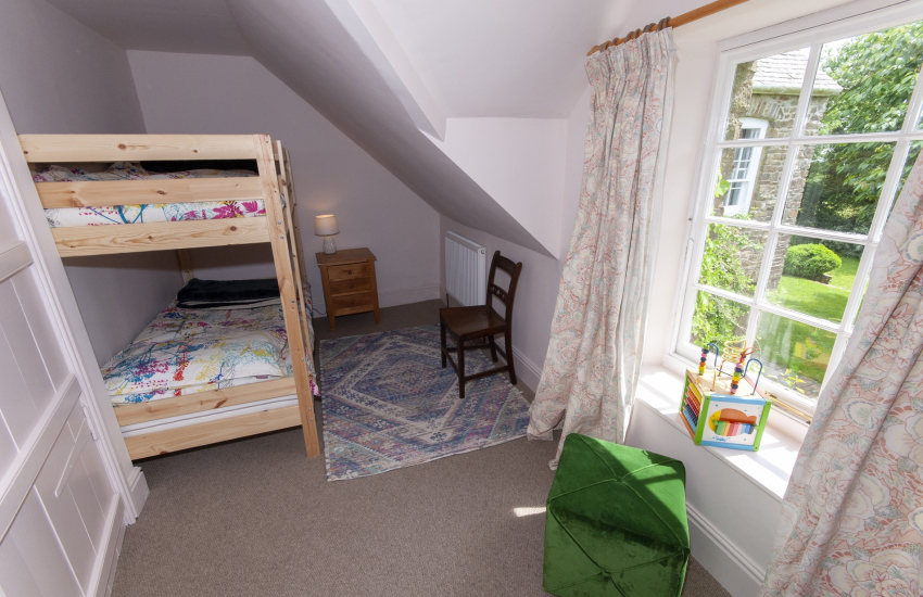 Family holiday home near Carew - children's bunk bedroom