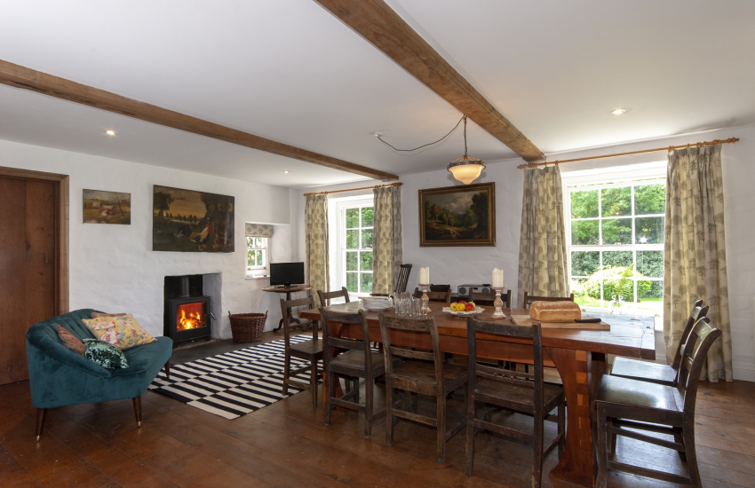 Creselly holiday home with large open plan kitchen/dining room