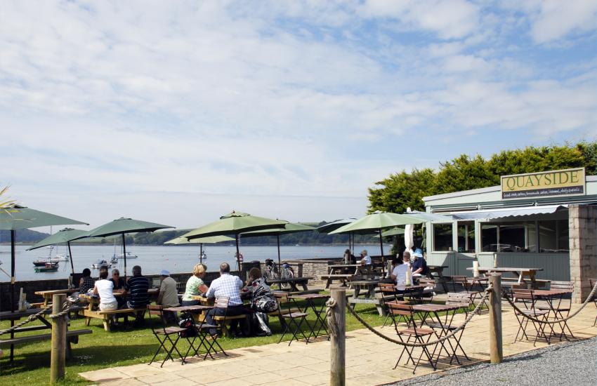 'Quayside Cafe' in Lawrenny