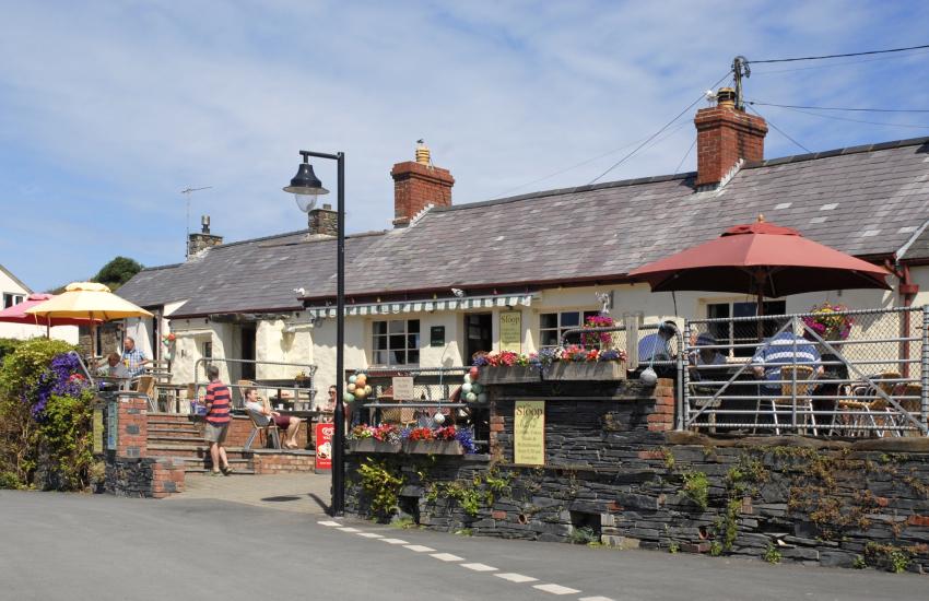 Porthgain is a picturesque little harbour village