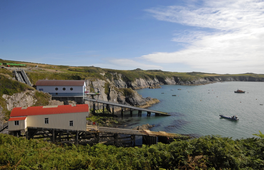 St Justinians new Lifeboat Station