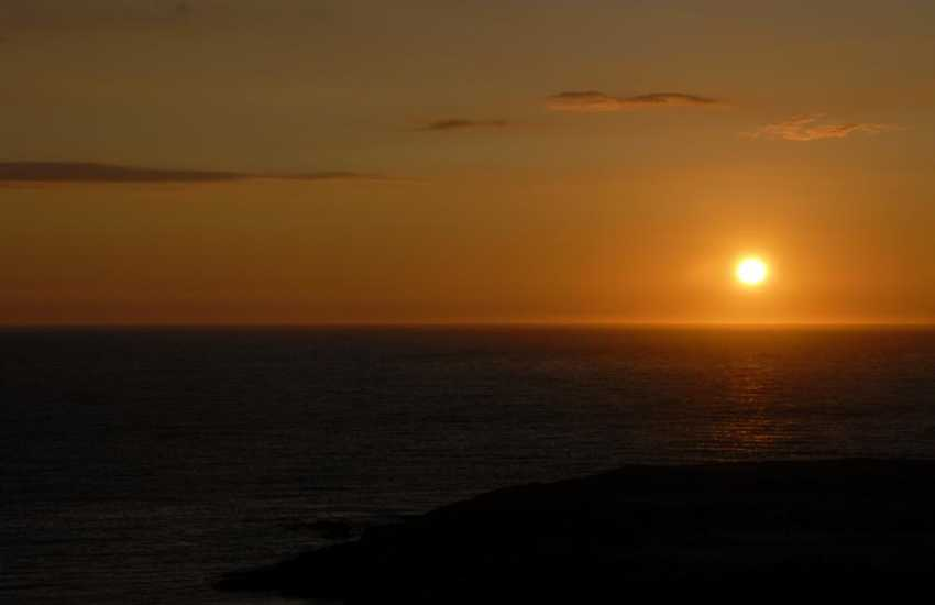 Cardigan Bay sunset
