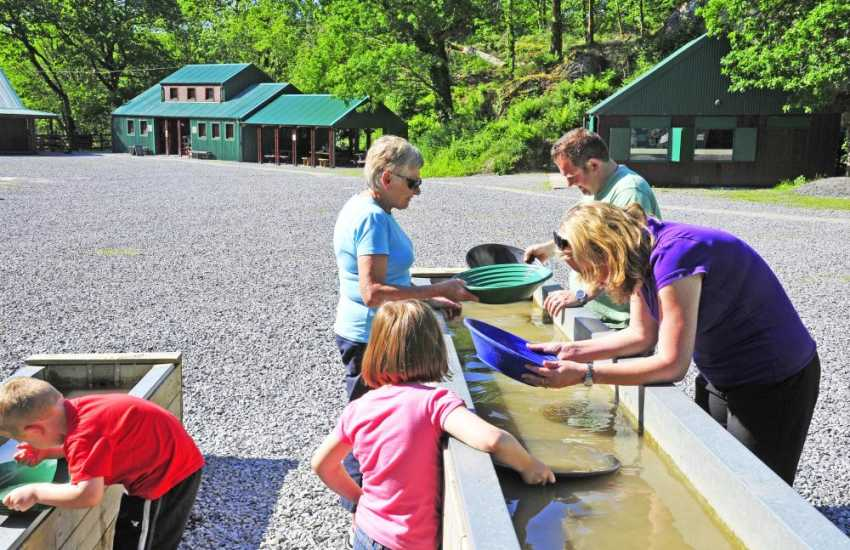 Visit Dolaucothi Goldmines and try panning for gold near the ancient drovers town of Lampeter