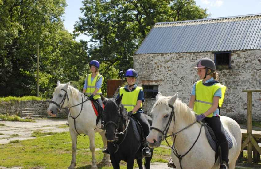 Marros Riding Centre cater for all levels of experience and you can even 'own a pony' for the day!