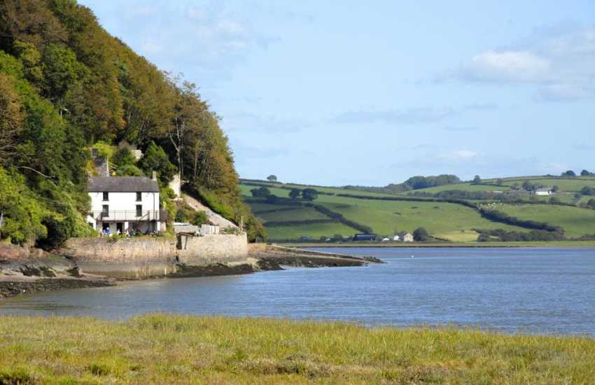 The Boat House on the banks of the river nearby was where Dylan Thomas wrote Under Milk Wood and spent the latter part of his life