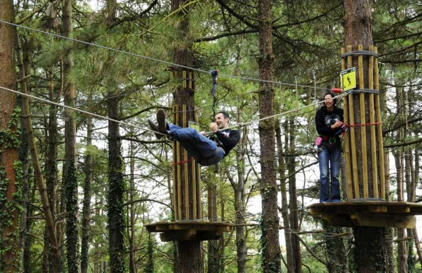 Pembrey Country Park is one of Wales' top visitor attractions with a dry ski slope, toboggan run, Go Ape, bike hire and 500 acres of natural parkland to explore