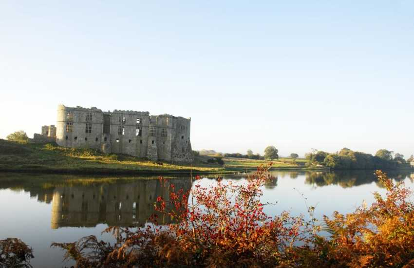 Magnificent Carew Castle
