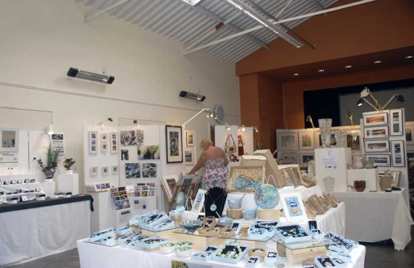 Pop into Coronation Hall in Dale village where a variety of exhibitions take place featuring local arts and crafts