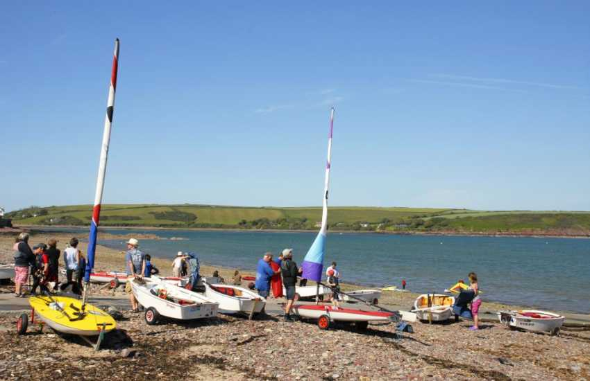West Wales Windsurfing & Sailing in Dale offer all year round windsurfing, sailing, surfing or kayaking tuition for beginners to experts