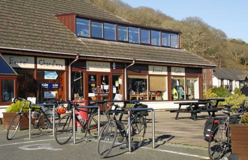 Mouth watering cakes and tasty home cooked meals are served throughout the day at the Brunel Cafe, Neyland Marina