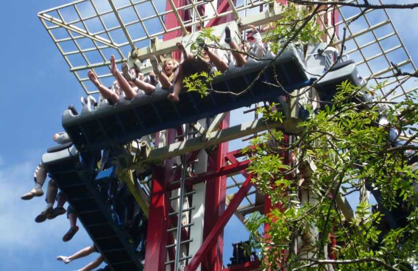 Oakwood Theme Park is a firm favourite for 'white knuckle rides'!