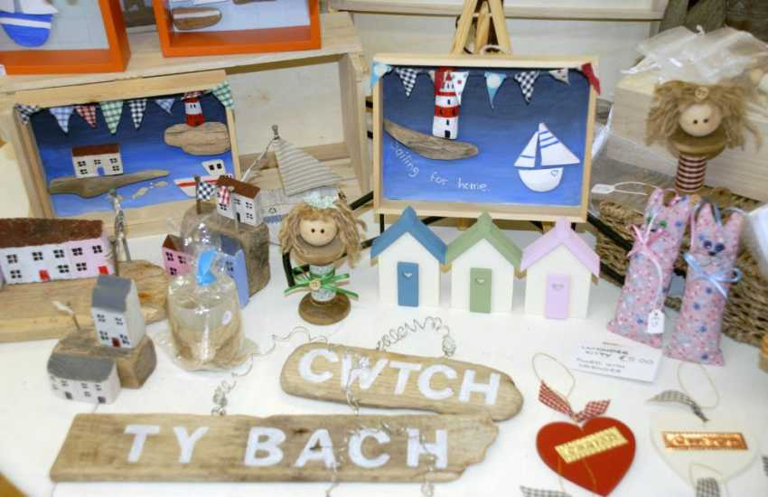 Pembrokeshire has lots of art galleries and craft shops in which to browse - perfect for holiday souvenirs