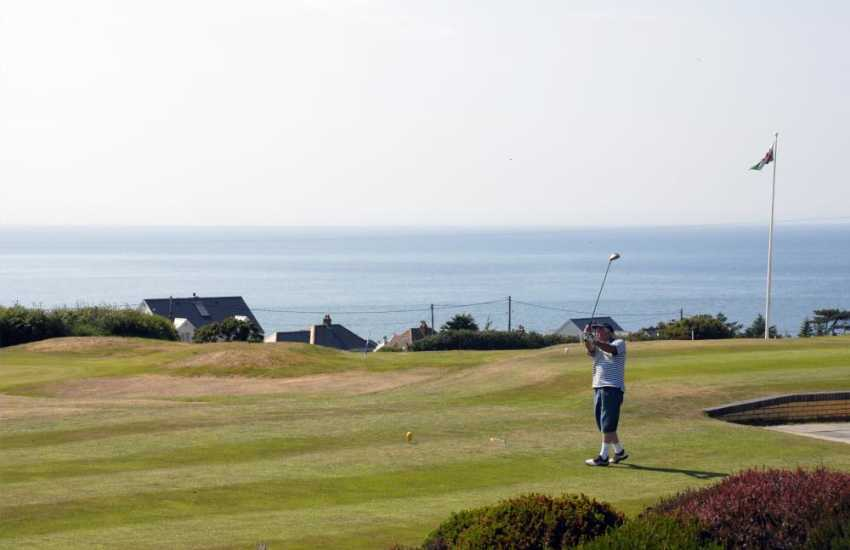 Cardigan Golf Club - an 18 hole championship course with a restaurant enjoying stunning views over the Teifi Estuary