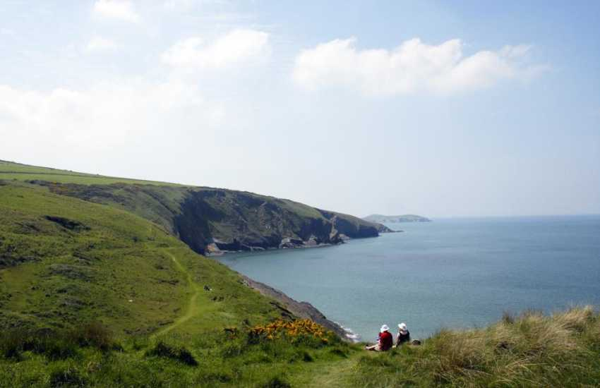 Wonderful cliff top walks to be enjoyed along The Cardigan Bay Heritage Coast