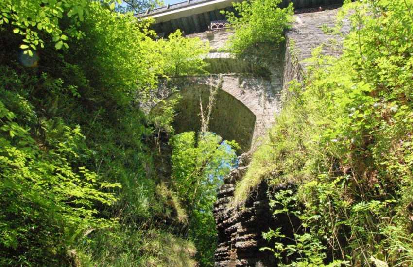 Devils Bridge, the iconic 3 bridges, built on top of each other