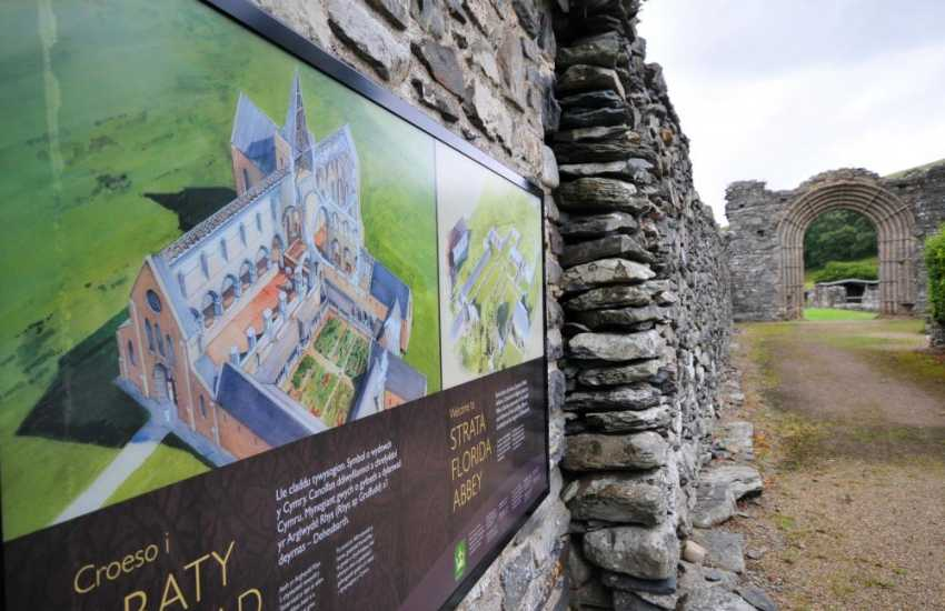 Strata Florida Abbey, there is much to captivate at this evocative, historically important site. Make your own replica tile in the Visitors Centre
